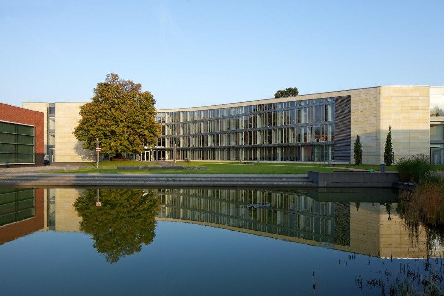 Zurück zur Uni? Der Campus des Hasso Plattner Instituts in Potsdam ist richtig schön - aber das Valsight-Office schließlich auch!